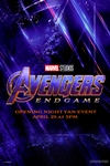 opening night fan event avengers endgame at an amc - 100×150